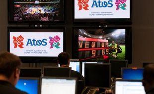 L'entreprise française Atos est chargée de gérer et sécuriser le système informatique aux Jeux Olympiques de Londres.