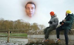 Mcfly et Carlito dans le clip de « Je me souviens » sur les gestes barrières, après un défi lancé par Emmanuel Macron.