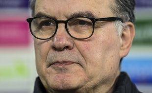 L'entraîneur argentin, Marcelo Bielsa.