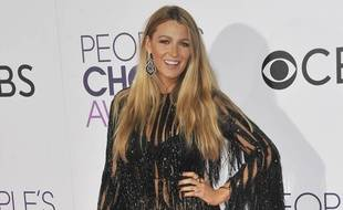 L'actrice Blake Lively aux People's Choice Awards