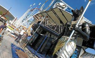 Près de 130 attractions s'installent au Zénith pour la fête de Saint-Michel.