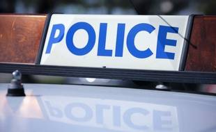 Véhicule de police (illustration)
