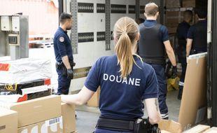 Des agents des douanes, ici à La Turbie. (illustration)