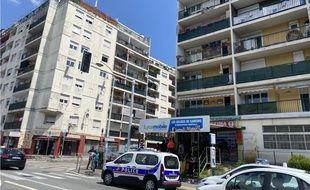 Le quartier des Liserons à l'Est de Nice, a été le théâtre de violences début juin.