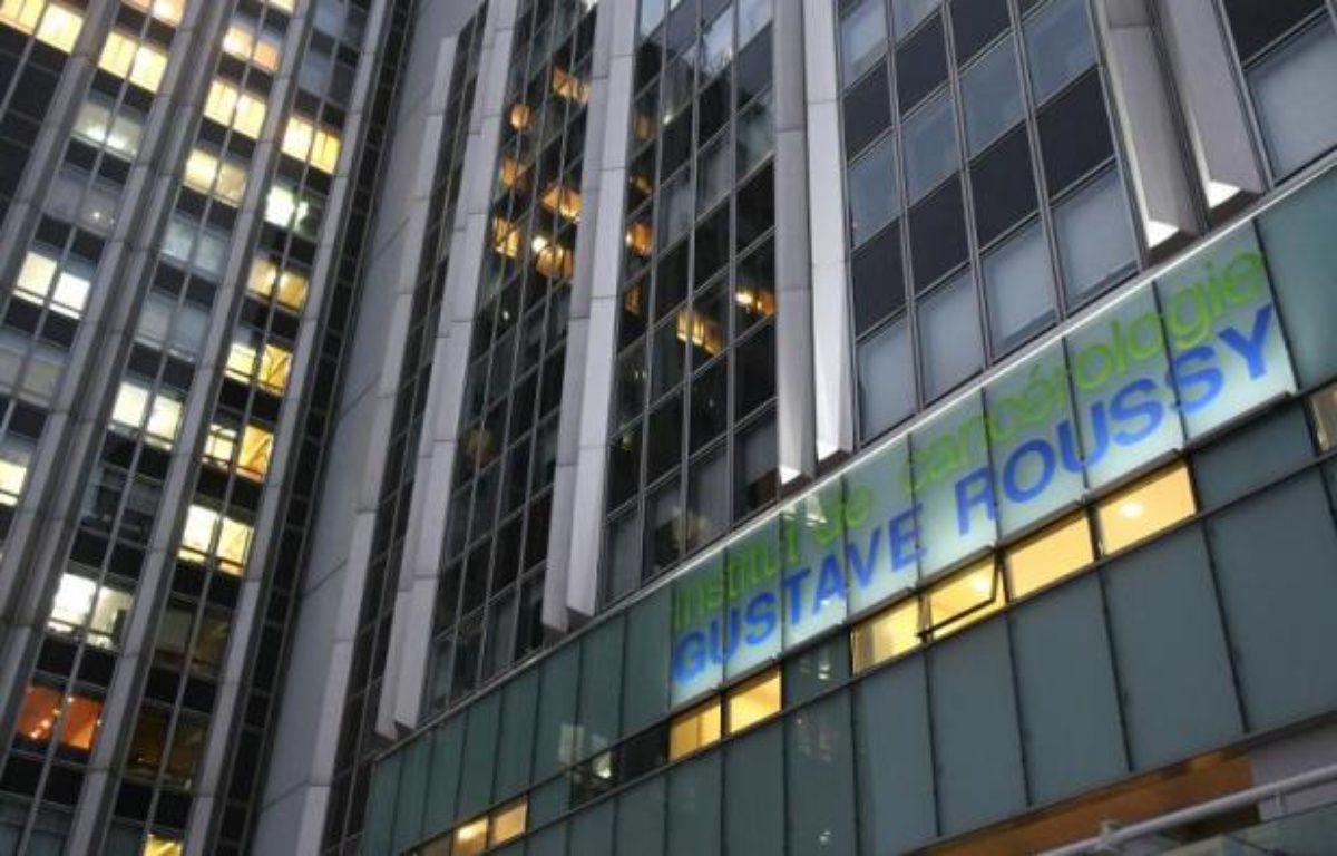 Vue de la façade de l'institut de cancérologie Gustave Roussy à Villejuif le 03 novembre 2009 – Joel Saget AFP