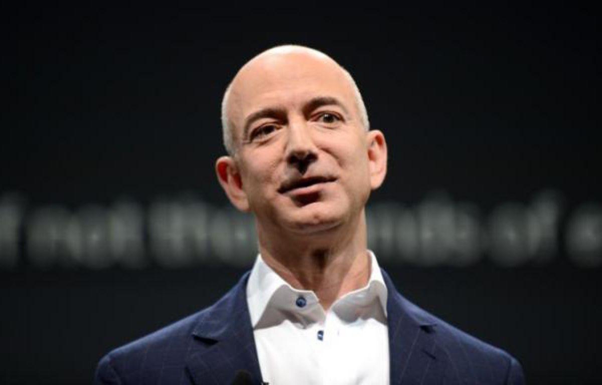 La fortune de Jeff Bezos, le patron d'Amazon, est estimée à 68 milliards d'euros. – Joe Klamar AFP