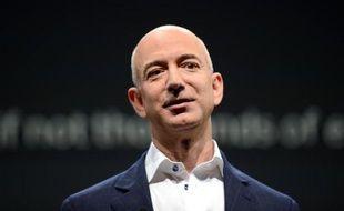 Jeff Bezos, le patron d'Amazon.