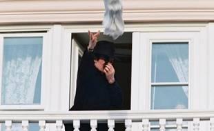 Michael Jackson en visite à Disneyland Paris