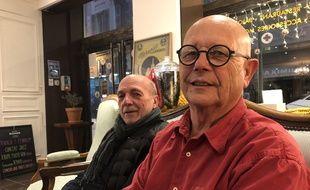 Michel Peraldi et Michel Samson, en février 2020