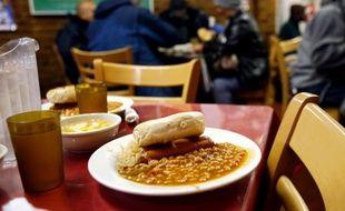 46 millions d'Américains bénéficient du programme de coupons alimentaires («food stamps»).