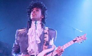 Prince dans le film «Purple Rain», en 1984.