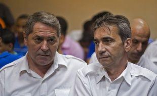 Pascal Fauret et Bruno Odos en juillet 2015 à Saint-Domingue.