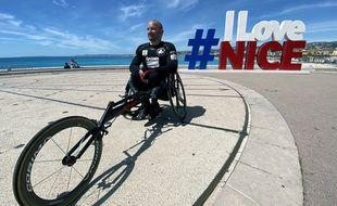 Aurélien Martin, passionné de sport, va parcourir 100 km en moins de dix heures dimanche