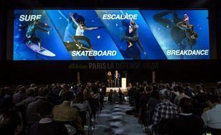 Tony Estanguet a animé une conférence à la Paris La Défense Arena