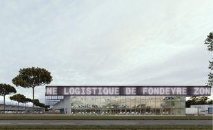 La nouvelle plateforme logistique doit ouvrir mi-2021 à Fondeyre.