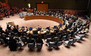 Le Conseil de sécurité de l'ONU, le 4 mars 2015 à New York