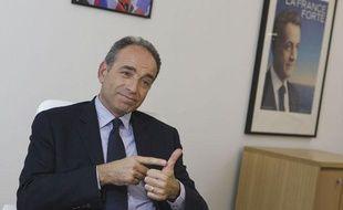 Jean-François Copé, candidat à la présidence de l'UMP, le 6 novembre 2012 au siège de l'UMP à Paris.