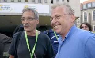 Jean-Paul Besset et Daniel Cohn-Bendit, symboles de la vague verte des européennes de 2009 en France. (archives)