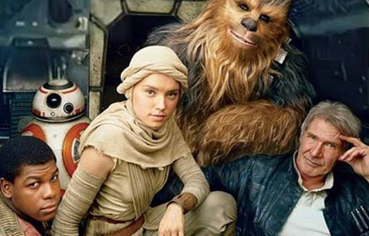 Les héros de Star Wars épisode VII – Twitter/Peter Mayhew