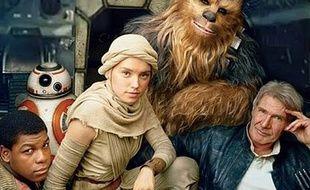 Les héros de Star Wars épisode VII