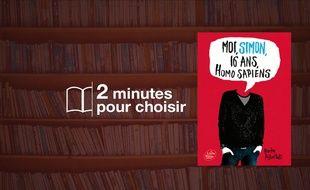 «Moi, Simon, 16 ans Homo Sapiens» par Becky Albertalli chez Livre de poche (352p., 6,90€).