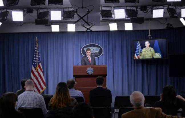 Briefing du porte-parole du Pentagone Peter Cook à Arlington, en Virginie, le 1er février 2016