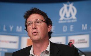 Antoine VEYRAT, ancien directeur général de l'OM. (Archives)