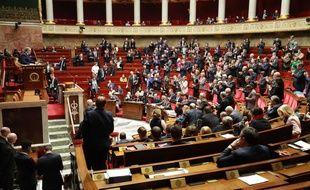 Les députés à l'Assemblée nationale, le 3 mars 2020.