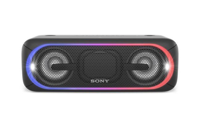 L'enceinte Sony SRS-XB40 permet aussi de créer des effets sonore DJ.