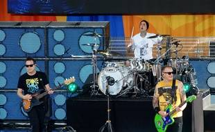Le groupe Blink-182