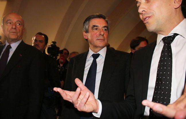 François Fillon et Alain Juppé, le 25 janvier 2017 à Bordeaux