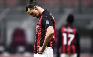 L'attaquant de l'AC Milan Zlatan Ibrahimovic.