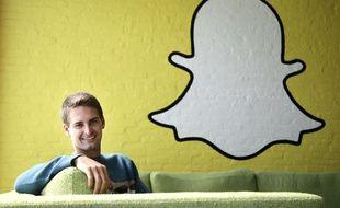 Le confondateur et directeur général de Snapchat, Evan Spiegel, en 2013.