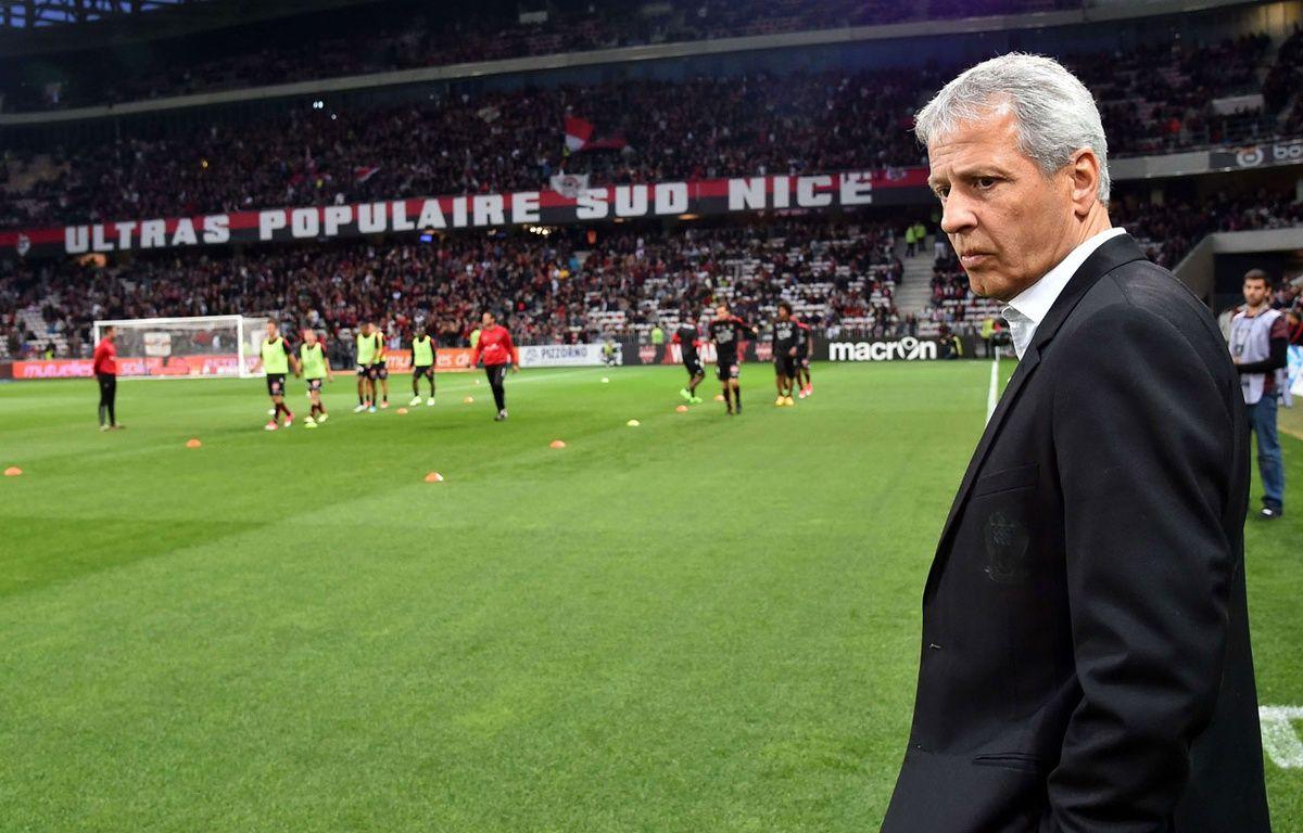 Lucien Favre avant le match contre Paris, le 30 avril. – BEBERT BRUNO/SIPA