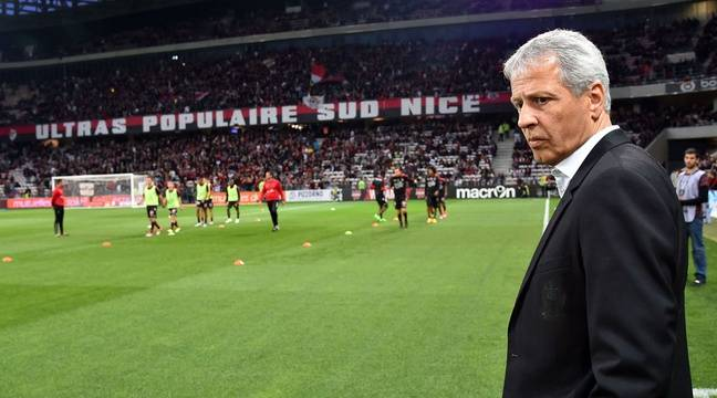 Lucien Favre avant le match contre Paris, le 30 avril. – BEBERT BRUNO/SIPA