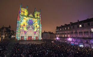 Le spectacle sur le parvis de la cathédrale Saint-Pierre avait attiré 150.000 personnes en 2016