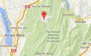 L'accident s'est produit à Allève, en Haute-Savoie.