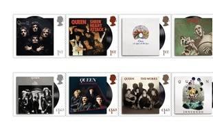 La collection de timbres hommage au groupe Queen