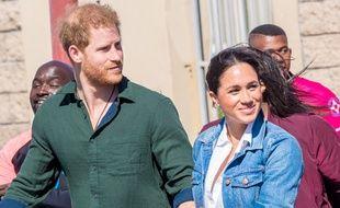 Le prince Harry et son épouse Meghan, duchesse de Sussex