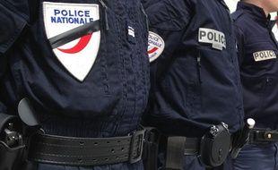 Des policiers en deuil. (Illustration)