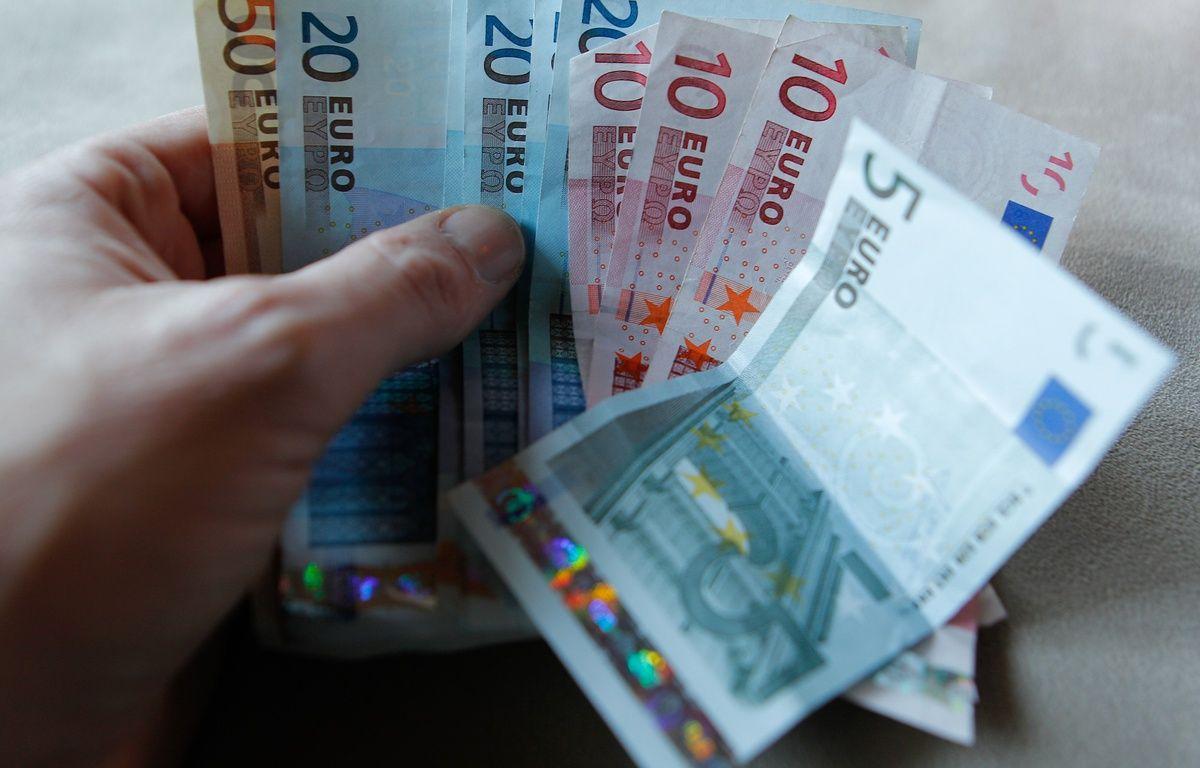 Illustration de billets d'Euros. Lyon, le 29 décembre 2012. CYRIL VILLEMAIN/20 MINUTES – C. VILLEMAIN/20 MINUTES