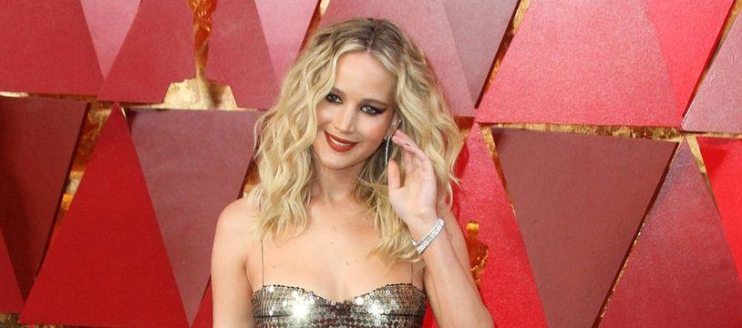 L'actrice Jennifer Lawrence