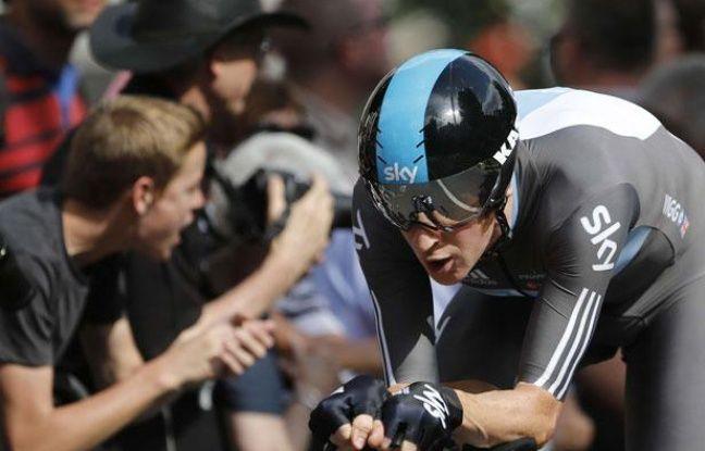 Le public était nombreux pour le prologue du Tour de France, le 30 juin 2012, à Liège.