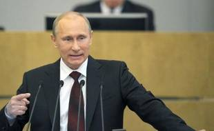 La Russie a depuis le début de l'année surmonté les conséquences de la crise économique de 2008-2009, a déclaré mercredi le Premier ministre Vladimir Poutine en présentant son rapport annuel devant la Douma (chambre basse du Parlement russe).
