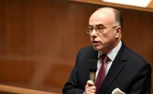 Bernard Cazeneuve le 15 décembre 2015 à l'Assemblée nationale à Paris