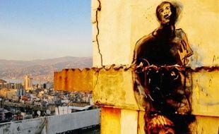 Beyrouth, de l'artiste Paul Bloas, a été l'une des œuvres exposées.