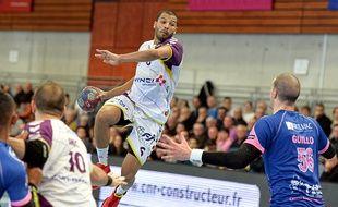 Le demi-centre nantais Nicolas Claire a contribué à la qualification du «H» à Cesson en inscrivant sept buts.