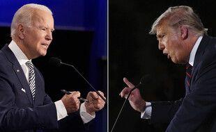 Joe Biden et Donald Trump leur de leur premier débat télévisé, le 29 septembre 2020.