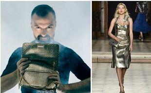 Le couturier Julien Fournié ouvre sa boutique en ligne où il propose des accessoires uniques vus dans ses défilés haute couture.