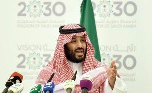 Le prince Mohammed ben Salmane à Ryad le 25 avril 2016